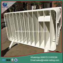pipe road barrier temporary fence