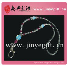 Keychain Promotion Gift Handmade Bead Crystal Lanyards Keychain In Gifts& Crafts