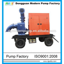Pompe à eaux usées diesel à amorçage automatique de la série ZW