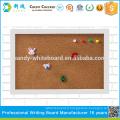 """Petits panneaux de liège avec cadre photo cadre cadre blanc 20 * 30cm / 7.8 * 11.8 """""""