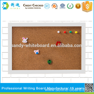 small cork boards with photo frame white frame board 2030cm78118 - White Framed Cork Board
