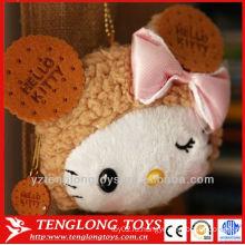 Экспорт Япония Hello Kitty с лук монет мешок плюшевые брелки