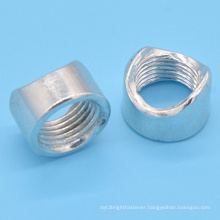 Zinc Plated Special Shape Pipe Nut for Furniture (CZ176)