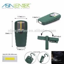 Asia Leader Produkte Einstellbare 180 Winkel Körper, Magnet und Haken, 200 Lumen 2W COB Multifunktions LED Arbeitslicht