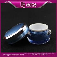Fashion Cone Shape Plastic Cute Skincare Container Et Vide New Acrylic Jar 15g