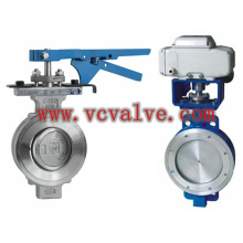 Eccentric Wafer Type Steel Butterfly Valve
