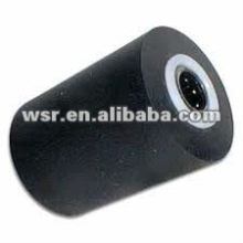 custom molded rubber roller for printing machine