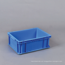 Envase de plástico apilable