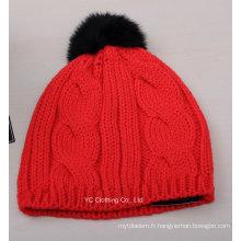 Casquette Beanie tricotée bio hiver