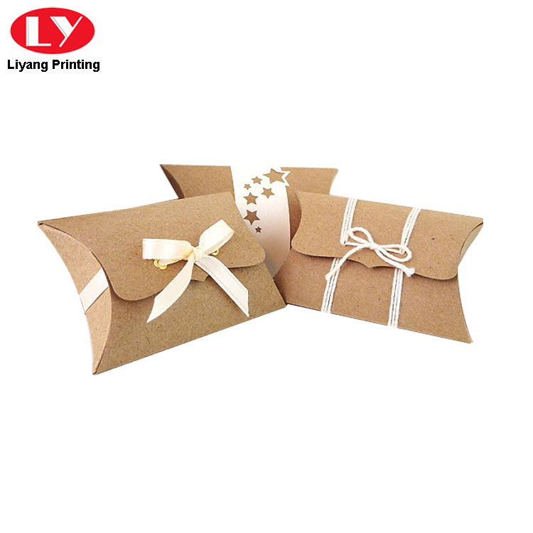 Pillow Box With Ribbon