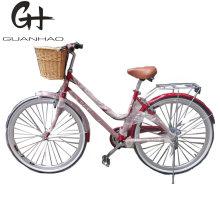 700c 6 Speed Utility Bike with Basket