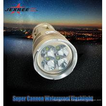 Regenschutz Anti-Rutsch-4 CREE Hand führte Taschenlampe wiederaufladbare Taschenlampe