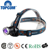 Zoomable UV-Ultraviolet Led Purple Light 3 Modes Ultraviolet LED Zoom UV Headlamp