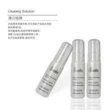 Gel de nettoyage à base de plantes pour un maquillage permanent