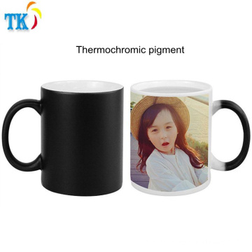 Thermochromic pigment/ink for mug