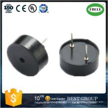 Black Round Piezoelectric Ceramic Buzzer (FBELE)