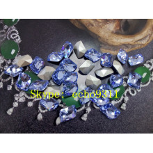 Light Sapphire Crystal Stones Fancy Rhienstones (DZ-3008)