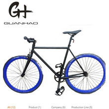 700c Colorful Parts Green Frame Beautiful Ce Fixie Gea Single Speed Track Fixed Gear Bike