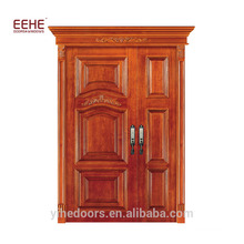 Waterproof Main Models Wood Room Door Gate Solid Teak Wood Door Price