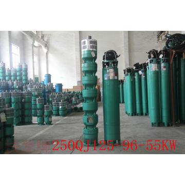 Vertical centrifugal deep well 250QJ water irrigation pump