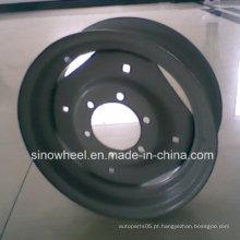 Roda de aço do trator 16X5.5 com alta qualidade