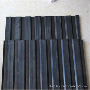 Tapis antidérapant en caoutchouc de plancher pour l'entrepôt