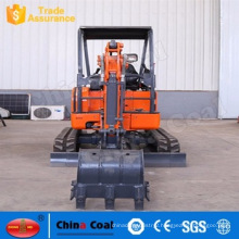 1.8 Ton Earth Moving Machinery Mini Micro Crawler Excavator