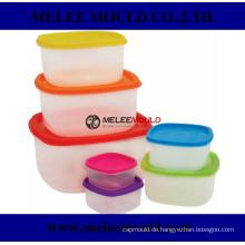 Stapelbare Plastik Microwavable sichere wiederverwendbare Behälter-Form