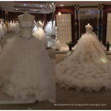 Strapless Ballgown Bridal Wedding Dresses K19033