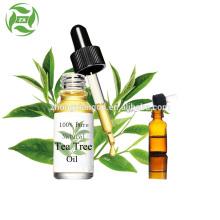 Aceite de árbol de té de grado terapéutico natural 100% puro