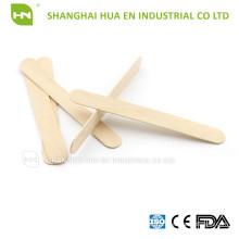 CE, ISO, FDA Não esterilizado 100% depressor de tougueira de madeira para uso dentário