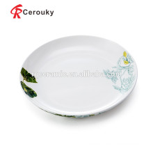 Ceramic dinner plate dish and plate