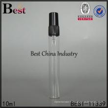 bouteille faite sur commande d'emballage liquide de 10ml, bouteille de pulvérisateur en verre de bâton de parfum, fabriquée en Chine
