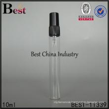 custom 10ml liquid packaging bottle, perfume stick glass sprayer bottle, made in China