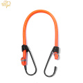 Hot Sell Strong Polyester Elastic luggage cord Rope Plastic Hook Metal Hook