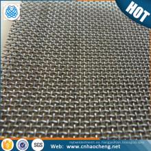 Elemento calefactor 25 75 micras 80 malla 0.12mm alambre diámetro resistencia del calentador 99.9% malla de alambre de tungsteno puro