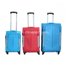 Superlight Upright Soft Trolley Luggage Set
