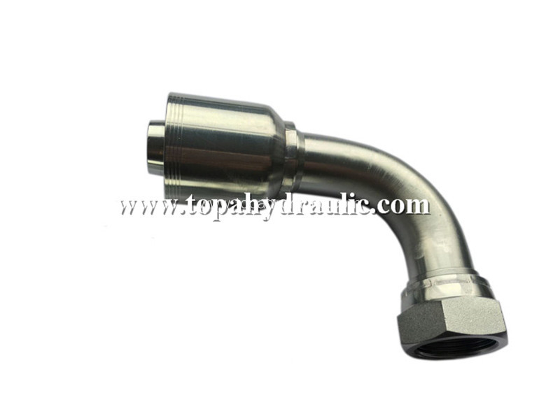 Hydraulic copper flexible water air hose fittings