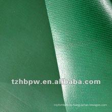 Resistente al fuego 400g-700g cubierta de encerado verde