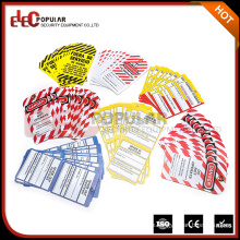Elecpopular Best Selling Produkte Bunte OEM Sicherheit Warnschilder PVC Lockout Industrial Lable Tags