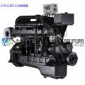 254 л.с. / 1800 об / мин, Шанхайский дизельный двигатель. Судовой двигатель G128