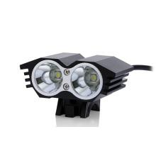 Projeto do olho da coruja 20W 1500lm poder superior 2 * CREE Xml T6 bicicleta Luz do diodo emissor de luz