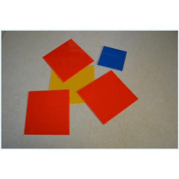 Feuille colorée de pp / feuille de polypropylène