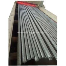 Barre d'acier de traitement thermique 1045