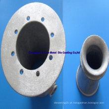 Peça de alumínio para equipamento desportivo com SGS, ISO9001: 2008