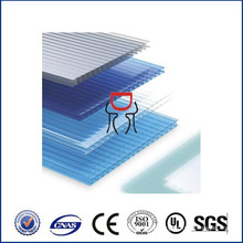 three wall polycarbonate sheet lexan three wall pc sheet