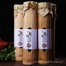 Saudável chá de emagrecimento Chá cru pu er bambu embalado Yunnan puer chá