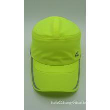 Outdoor Fluorescent Green 100% Polyester Baseball Golf Cap (ACEK0047)