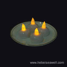 Yellow White Light Flicker Led Floating Candle