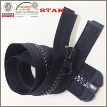Schwarzer Plastikzipper für Frauen Taschen (# 5)